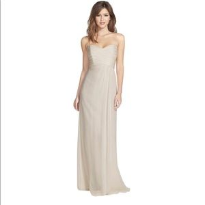 Long Bridesmaid Dress from Amsale